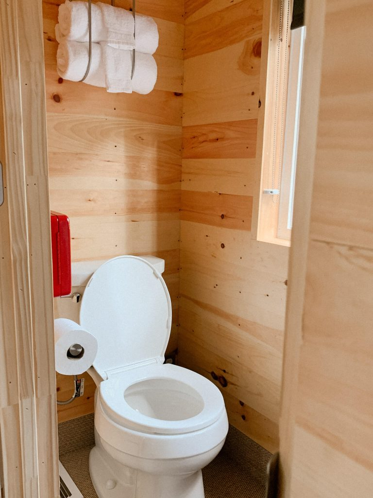 Getaway House Toilet