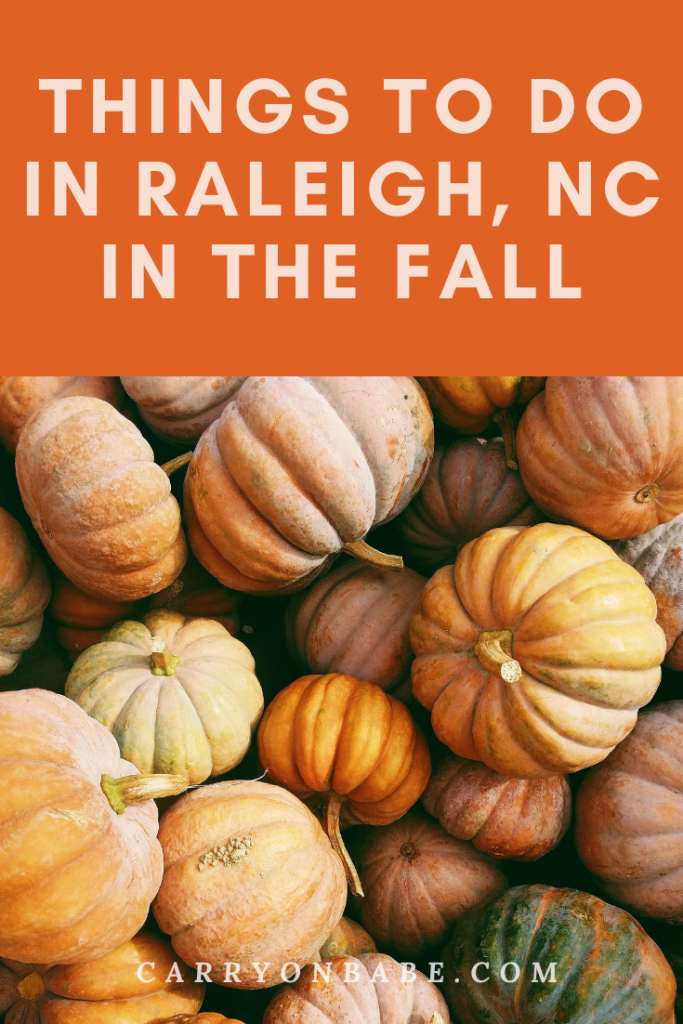 things to do in raleigh north carolina in the fall