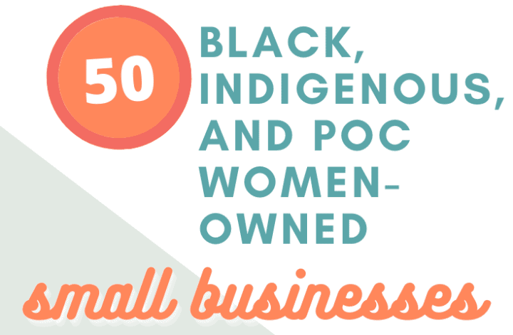 Black indigenous and POC-owned small businesses