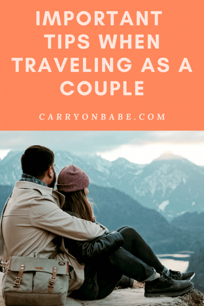traveling as a couple
