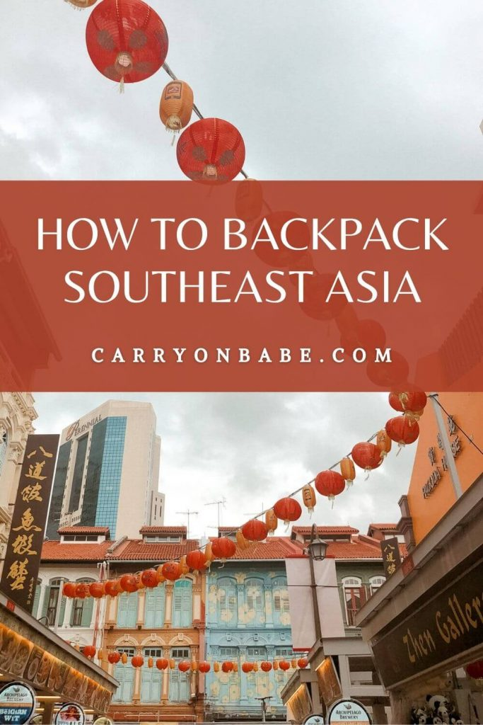 Where to travel in southeast asia