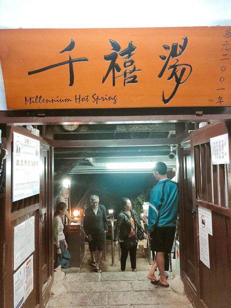 millennium hot spring