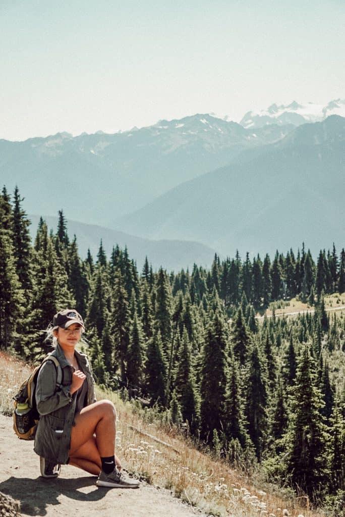 hiking in mrnp