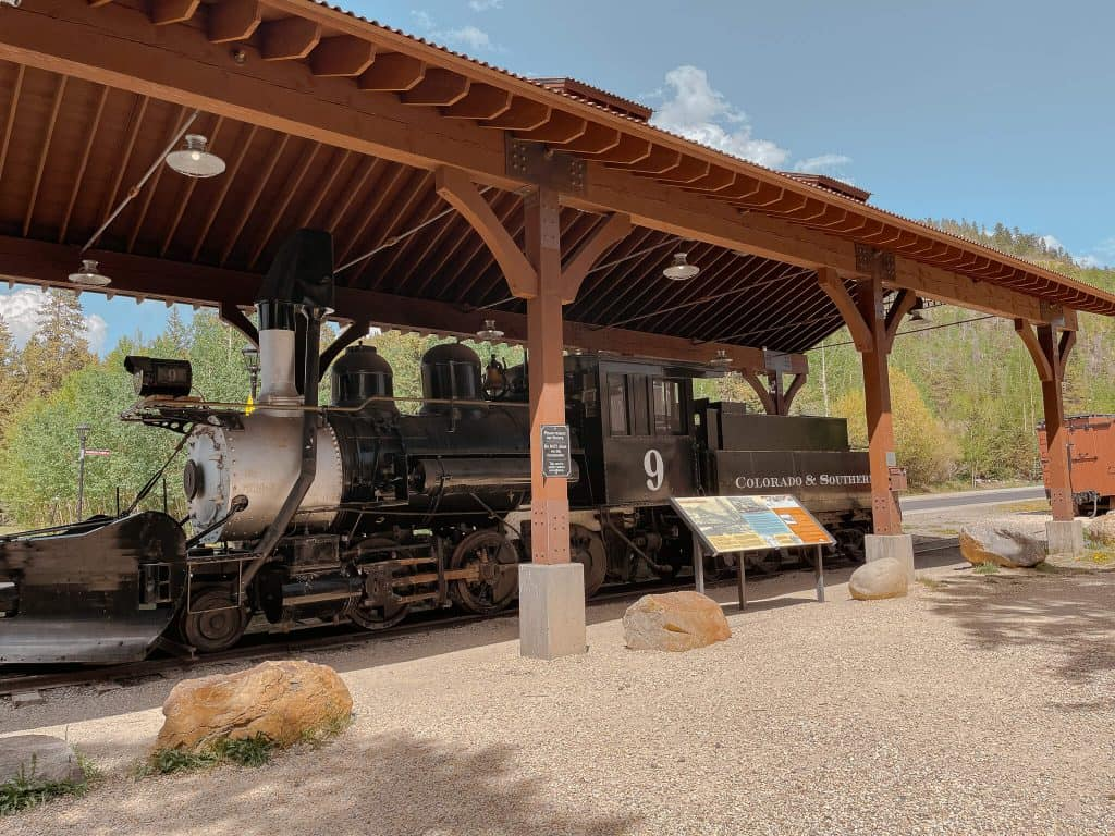 Colorado Breckenridge Train