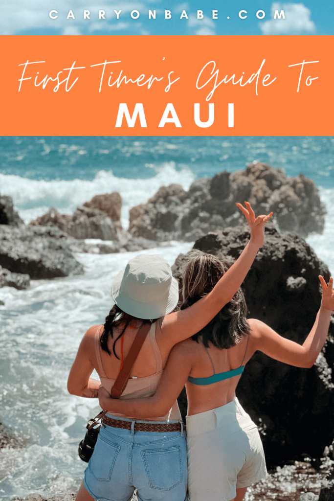 4 days in maui itinerary